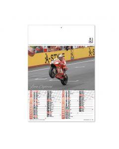 MOTO GP - zweimonatliche Moto-GP-Kalender