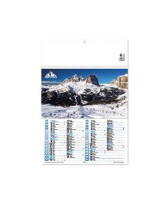 MONTI D'ITALIA - kalender der Berge von Italien