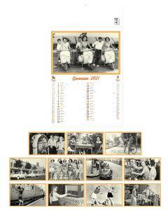 VINGTIEME - 3-Monatskalender Vintage Style