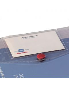 personalized AA document folder with business card holder GK1416TR