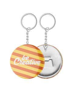 KEYBADGE BOTTLE - Button-Schlüsselanhänger