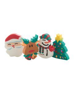 FLOP - Radiergummi-Set mit Weihnachtsmotiven