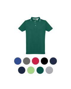 THC ROME - Slim fit Herren Poloshirt