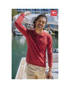 THC BERN - Herren Langarm-Poloshirt