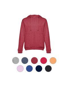 THC AMSTERDAM - Herren Sweatshirt, mit Reißverschluss und Kapuze