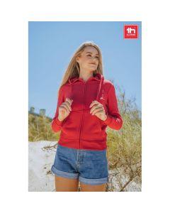 THC AMSTERDAM WOMEN - Damen Sweatshirt, mit Reißverschluss und Kapuze