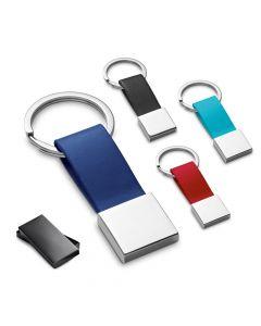 BUMPER - Schlüsselanhänger aus Metall und Kunstleder