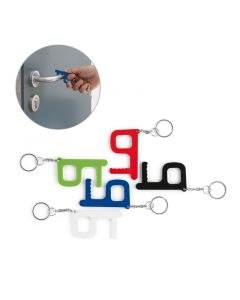 HANDY SAFE - Multifunktions-Schlüsselanhänger mit antibakterieller Behandlung
