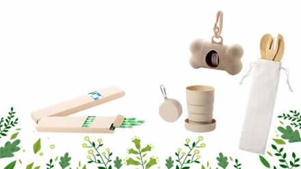 Werbeartikel für umweltfreundliche Produkte